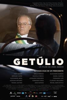 Cartaz do filme Getúlio.